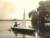 robert-macmillan-viola-and-peters-son-in-canoe-he-built-shamrock-frensham-little-pond-1954