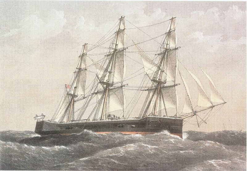 hms-captain-painting-by-capt-william-mitchell-april-1870