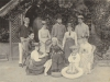 ethel-robertson-grandmother-ethel-standing-rhs-sister-hilda-seated-lhs-brother-manwaring-rhs-in-swimming-tube-father-rear-rhs-mother1886