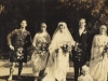 gwen-bisset-vyvyan-watson-at-their-wedding-nesta-molteno-a-bridesmaid-on-left-oct-1920