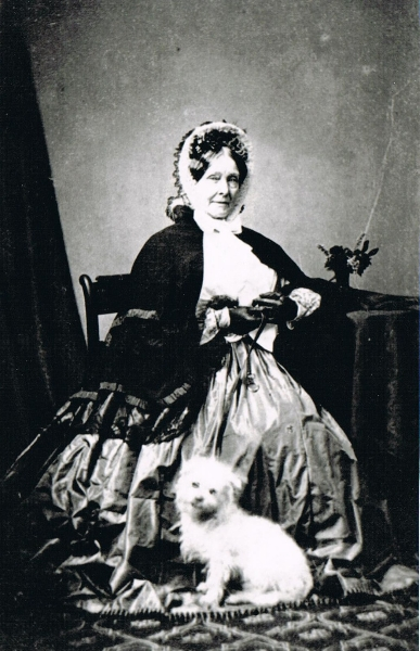 caroline-molteno-nee-bower-with-her-beloved-dog1860s