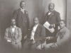 anc-delegation-to-britain-1914-incl-betty-moltenos-friends-john-dube-centre-sol-plaatje-right