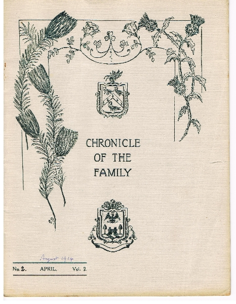 chronicle-of-the-family-front-cover-august-1914