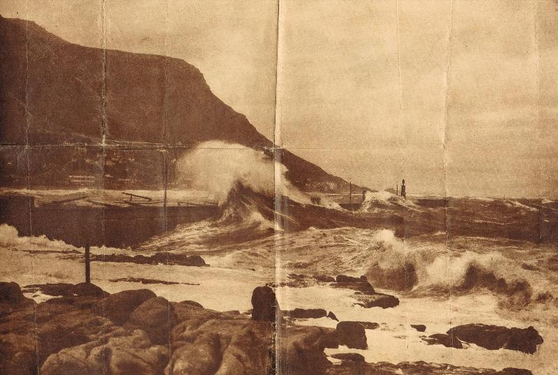 kalk-bay-1930-heavy-seas-breaking-over-jetty-cape-times-11-1-1930