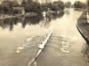 cambridge-kings-college-1st-may-boat-brian-molteno-looking-downstream-to-morleys-holt-1954