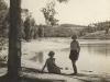 kromvlei-elgin-carol-williamson-her-daughter-margaret-at-the-dam-1950s