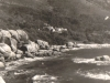 millers-point-tiny-beach-w-gigantic-boulder-directly-below-the-house-1946